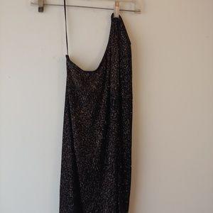 Asos one shoulder pencil dress 6